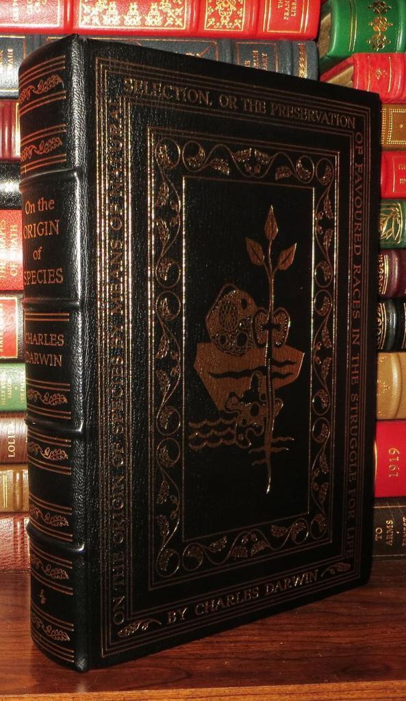 ON THE ORIGIN OF SPECIES Easton Press: Darwin, Charles