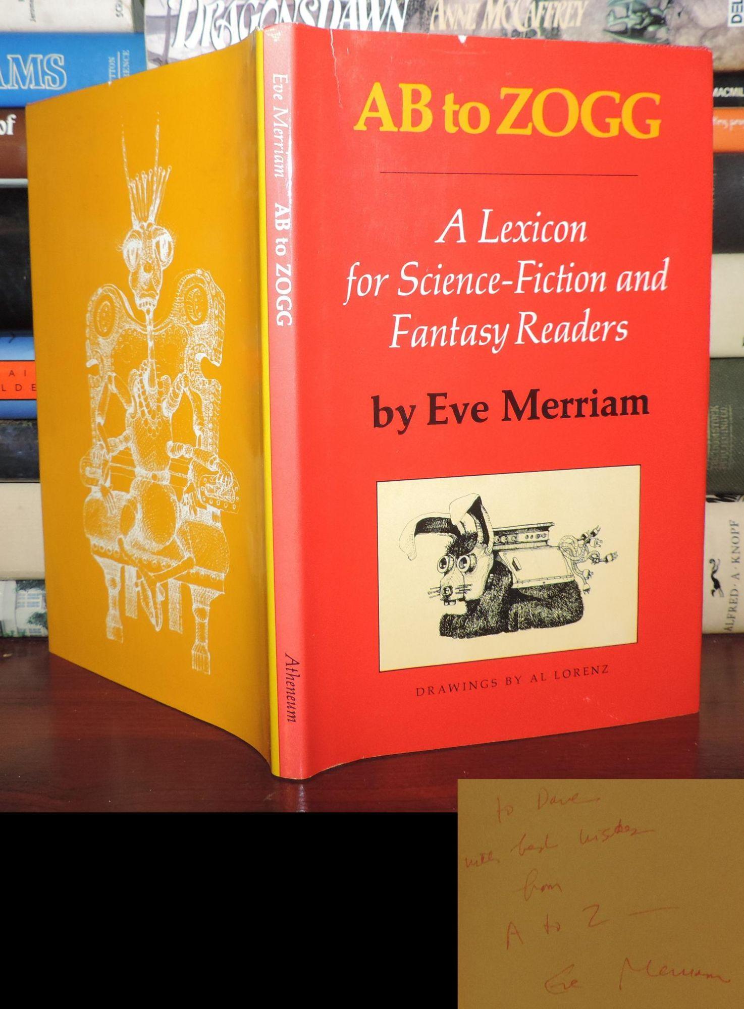 SIGNED! EVE MERRIAM -