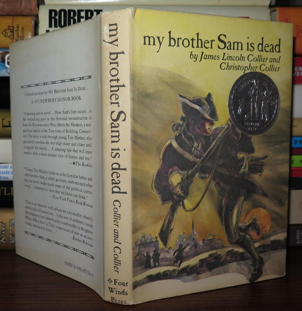 a review of my brother sam is dead by james and christopher collier