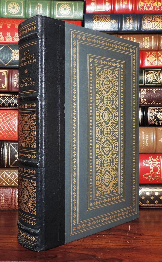 THE BROTHERS KARAMAZOV Franklin Library: Fyodor Dostoevsky