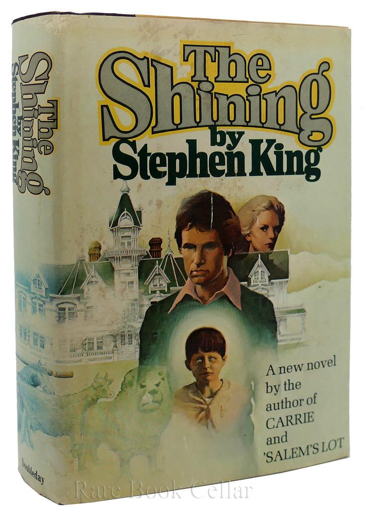 THE SHINING Stephen King Hardcover