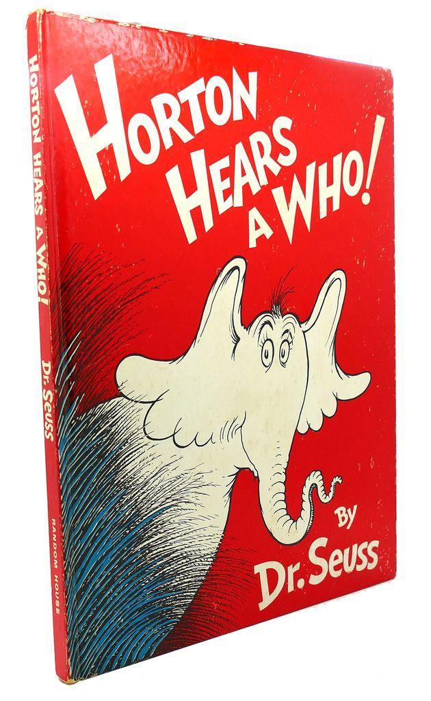 HORTON HEARS A WHO! Dr. Seuss Hardcover