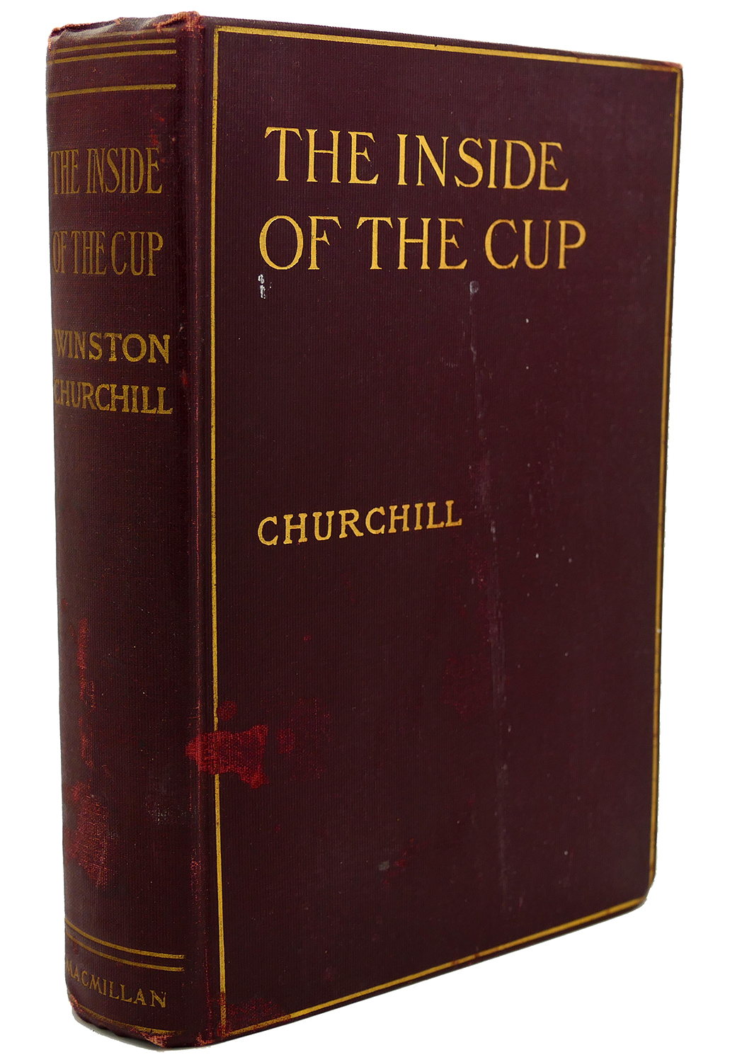 THE INSIDE OF THE CUP Winston Churchill Howard Giles Hardcover