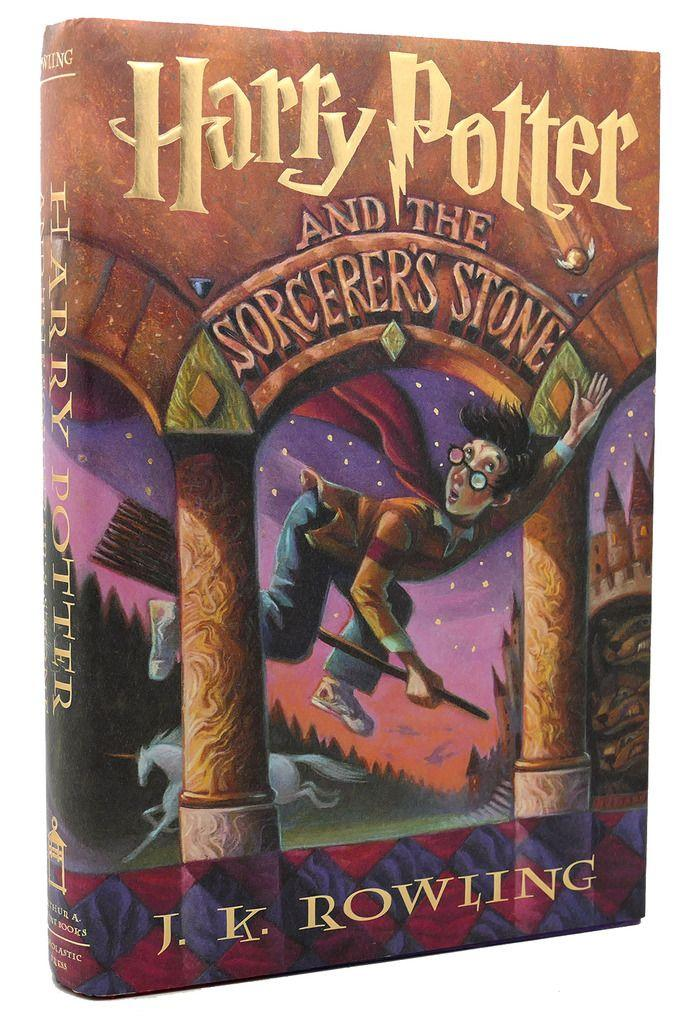 HARRY POTTER AND THE SORCERER'S STONE by J. K. Rowling ...