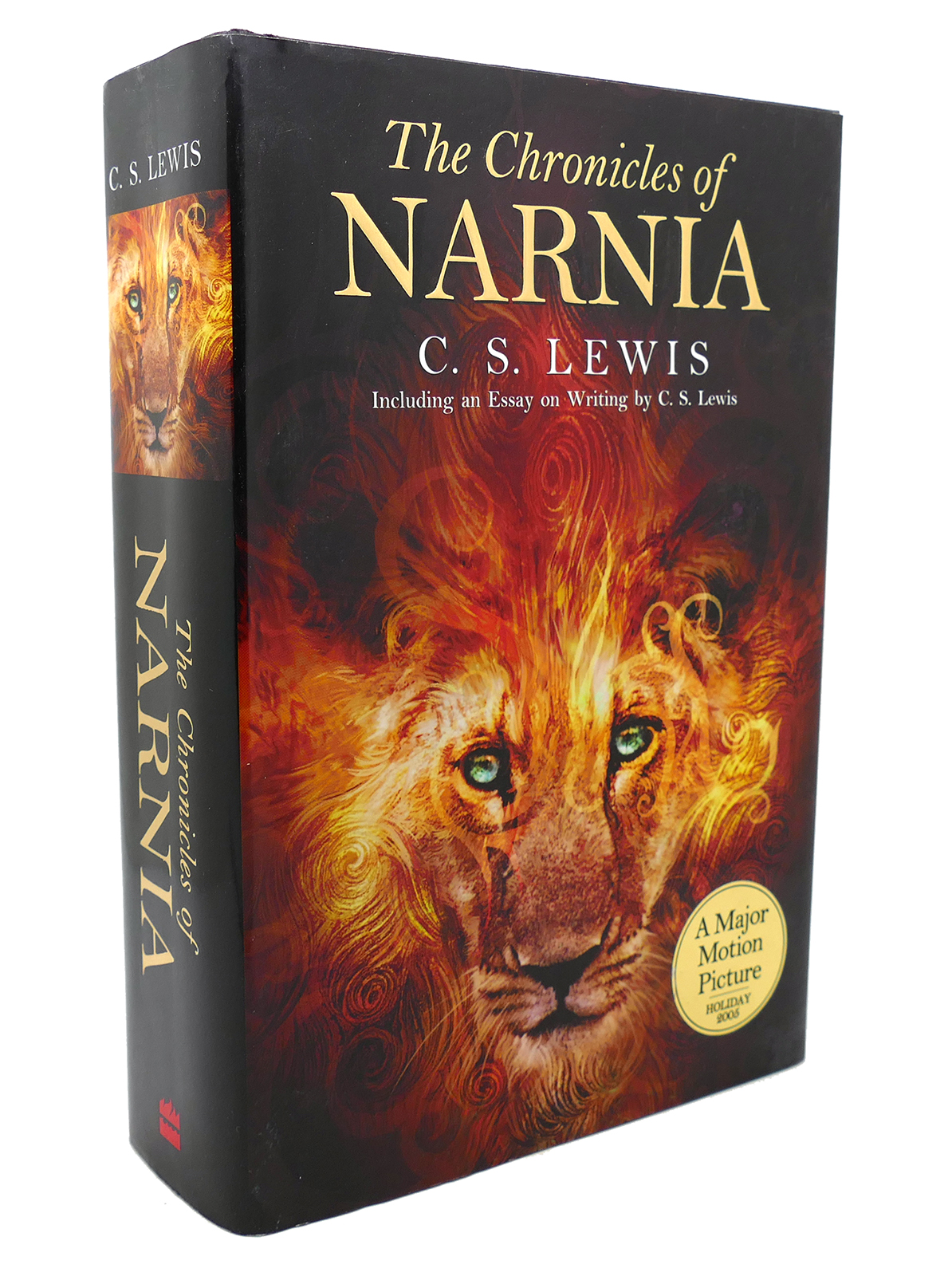 Lewis New Sealed Rare Leather Bound Hardback The Chronicles Of Narnia by C.S