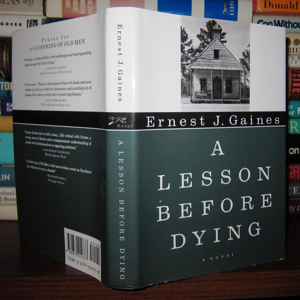 a literary analysis of a lesson before dying by ernest j gaines A lesson before dying: free book review / plot synopsis by ernest gaines / literary analysis cliff notes™, cliffs notes™, cliffnotes™, cliffsnotes™ are trademarked properties of the john wiley publishing company.