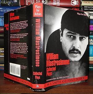 WILLIAM MASTROSIMONE Collected Plays, Vol. 1: Mastrosimone, William