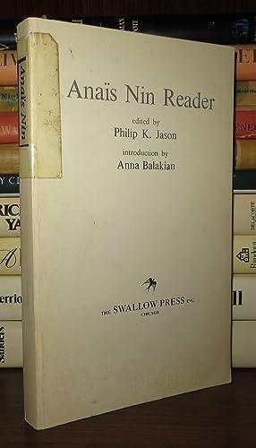ANAIS NIN READER: Nin, Anais; Jason, Philip K. (editor)