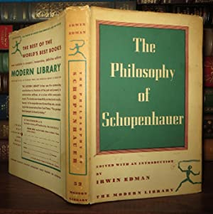 THE PHILOSOPHY OF SPINOZA Selected from His: Spinoza, Benedict De;
