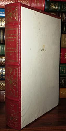 THE CYCLES OF AMERICAN HISTORY Signed 1st Franklin Library: Schlesinger, Arthur M. , Jr.