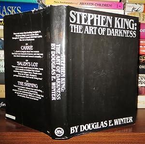 STEPHEN KING The Art of Darkness: Winter, Douglas E. - Stephen King