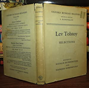 LEV TOLSTOY SELECTIONS: Tolstoi, Lev Nikolaevich
