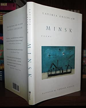 MINSK Poems: Greenlaw, Lavinia & Edward Hirsch