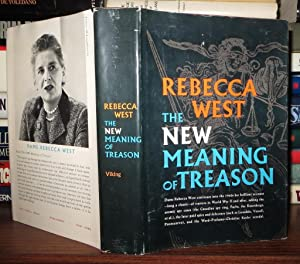 THE NEW MEANING OF TREASON: West, Rebecca