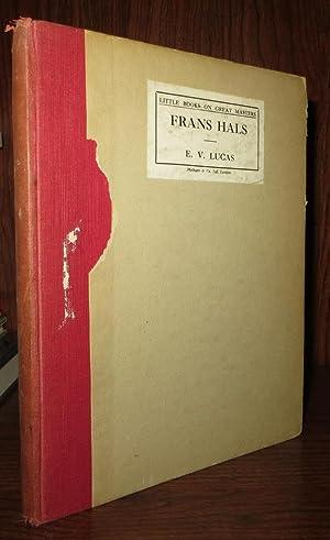 FRANS HALS: Lucas, E. V.