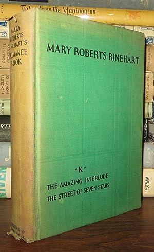 "MARY ROBERTS RINEHART'S ROMANCE BOOK ""K,"" the: Rinehart, Mary Roberts"