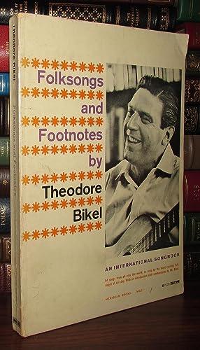 FOLKSONGS & FOOTNOTES By Theodore Bikel: Bikel, Theodore