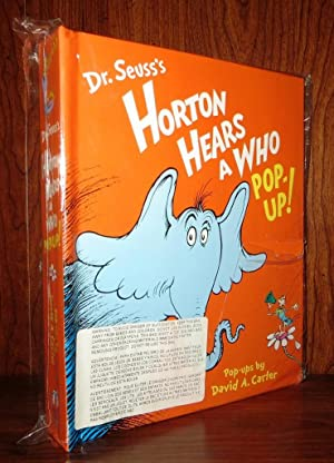 HORTON HEARS A WHO POP-UP!: Seuss, Dr. &