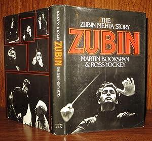 ZUBIN The Zubin Mehta Story: Bookspan, Martin - Zubin Mehta