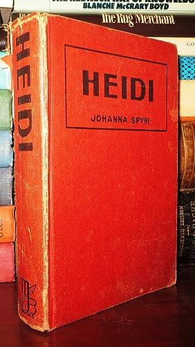HEIDI: Spyri, Johanna ;