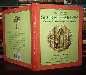 INSIDE THE SECRET GARDEN A Treasury of: Collins, Carolyn Strom