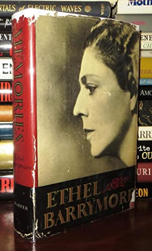 MEMORIES An Autobiography by Ethel Barrymore: Barrymore, Ethel