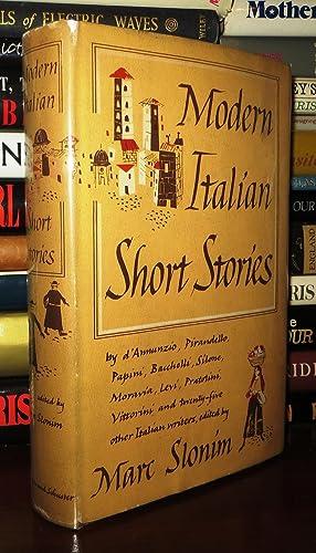 MODERN ITALIAN SHORT STORIES: Slonim, Marc. (Ed.