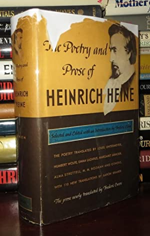 THE POETRY AND PROSE OF HEINRICH HEINE: Ewen, Frederic