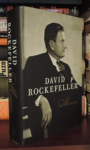 DAVID ROCKEFELLER Memoirs: Rockefeller, David