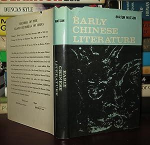 EARLY CHINESE LITERATURE: Watson, Burton