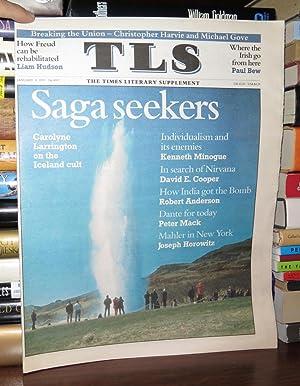 TLS, THE TIMES LITERARY SUPPLEMENT January 8: Hudson, liam, joseph