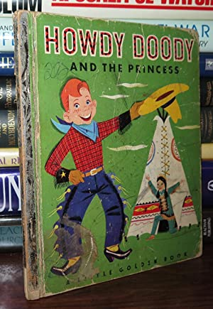 HOWDY DOODY AND THE PRINCESS Little Golden: Kean, Edward Ill