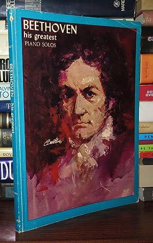 BEETHOVEN HIS GREATEST PIANO SOLOS: Shealy, Alexander - Ludwig Van Beethoven