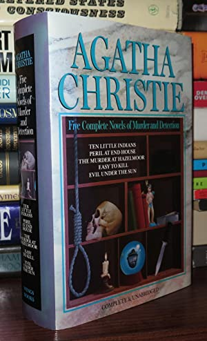 FIVE COMPLETE NOVELS OF MURDER AND DETECTION: Christie, Agatha
