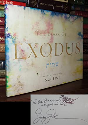 THE BOOK OF EXODUS Signed 1st: Fink, Sam