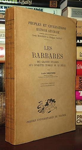 LES BARBARES Peuples Et Civilisations, Volume V: Halphen, Louis