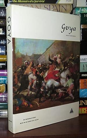 GOYA Francisco De Goya Y Lucientes Goya: Gudiol, Jose