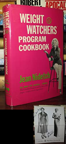 WEIGHT WATCHERS PROGRAM COOKBOOK Signed 1st: Nidetch, Jean