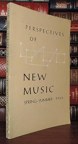 PERSPECTIVES OF NEW MUSIC Spring - Summer 1965 Vol 3 No 2: Boretz, Benjamin