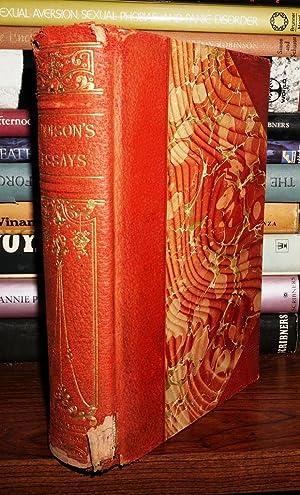 ESSAYS OF JOSEPH ADDISON: Addison, Joseph & Green, John Richards (editor)