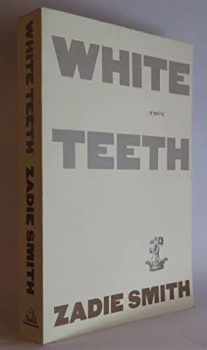 White Teeth Book Cover : White teeth by zadie smith first edition abebooks