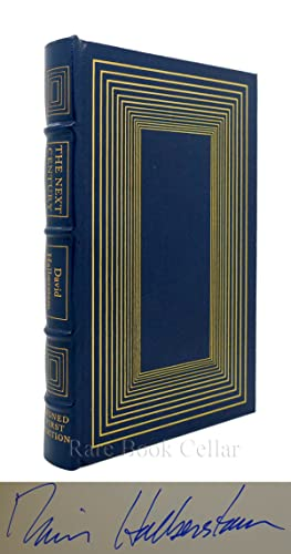 THE NEXT CENTURY Signed Easton Press: David Halberstam