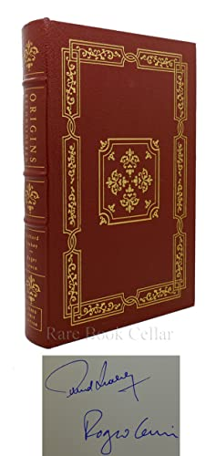 ORIGINS RECONSIDERED Signed Easton Press: Richard Leakey and Roger Lewin