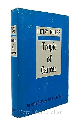 TROPIC OF CANCER: Henry Miller