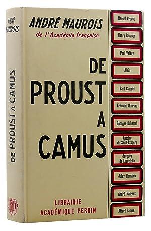 DE PROUST A CAMUS: Andre Maurois