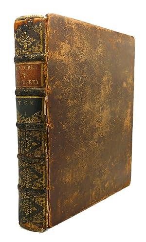 MEMOIRES POUR SERVIR A L'HISTOIRE DU XVIII SIECLE, VOLUME I : Les Negociations, Traitez, ...