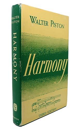 HARMONY: Walter Piston