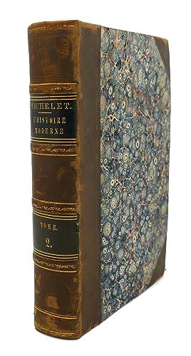 PRECIS DE L'HISTOIRE MODERNE, TOME II: M. Michelet