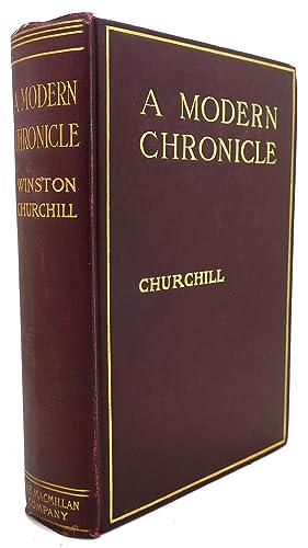 A MODERN CHRONICLE: Winston Churchill