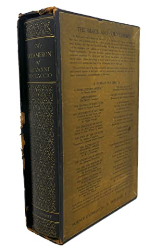 THE DECAMERON OF GIOVANNI BOCCACCIO: Giovanni Boccaccio, John Payne (editor)
